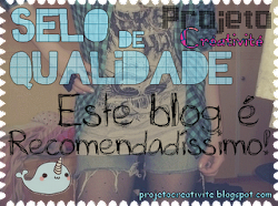 1° Selo do blog!