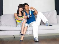 Jolin Tsai/Cai Yi Lin and Huang Xiao Ming