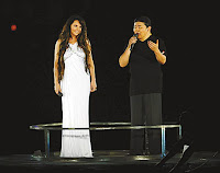 Sarah Brightman and Liu Huan