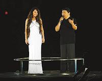 Sarah Brightman and Liu Huan