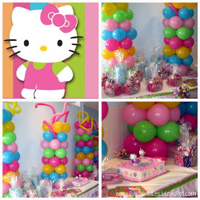 PartyTales Birthday Party Sarinas Hello Kitty Balloon