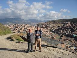 visita caracolí en la periferia de Bogotá