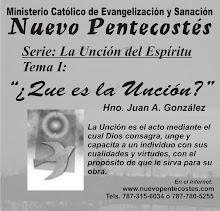 """Serie: """"La Unción del Espíritu"""" Tema 1"""