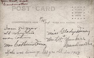 Catherine Burtner Downey - Picture Postcard - Back