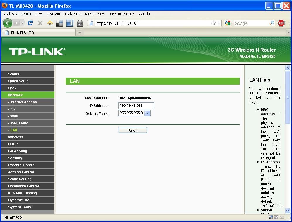 Tp link tl mr3420 como repetidor wifi andromeda - Repetidor tp link ...