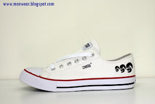 Price: RM 59  Item Code: C-01  Color: White with PU Leather  Size: Euro 41 to 45