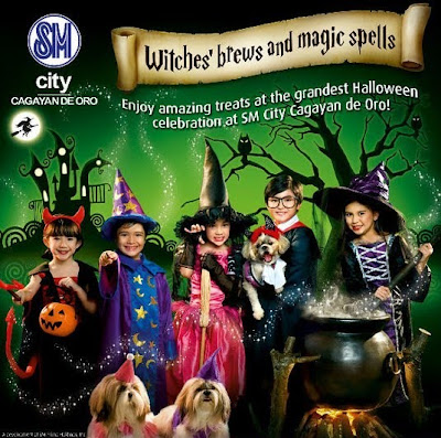 Halloween Celebration At SM City Cagayan de Oro