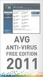 AVG 2011 Antivirus Free Edition - the latest version