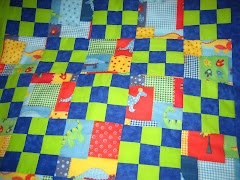 Baby Quilt - Dinosaurs