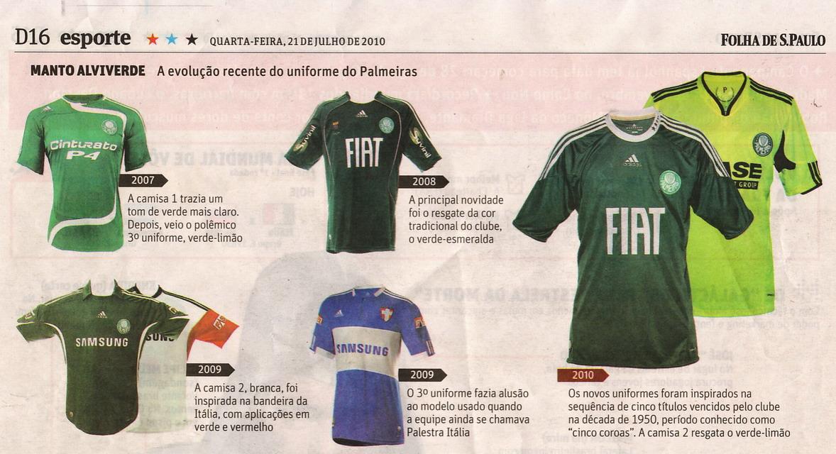 Clube FJR  Palmeiras com novas camisas para o Brasileirão c5e53fff6da6c