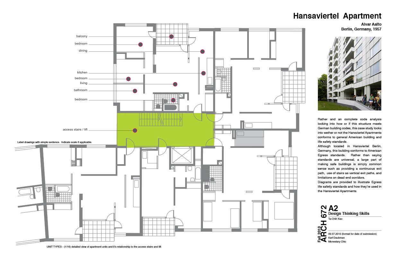 Dot dot dot hansaviertel apartments case study - Case study small apartment ...