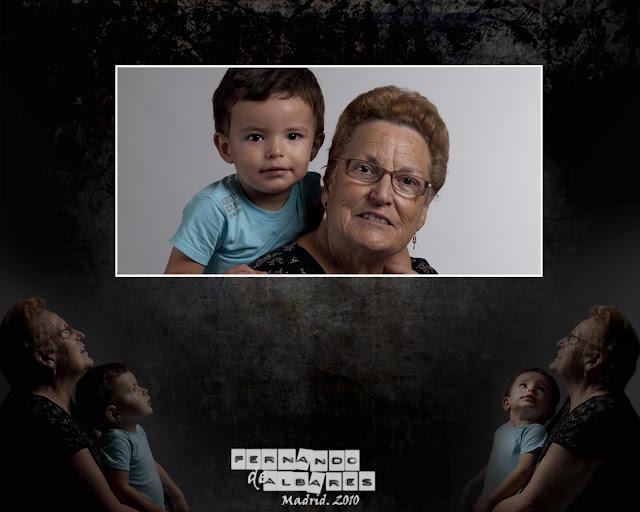 029ander albares+fotografos Ander y abuela