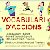 VOCABULARI D&#039;ACCIONS