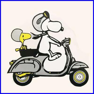 snoopy bike