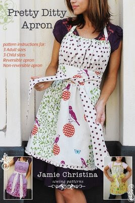 Pretty%2BDitty%2BApron%2BPattern%2BJamie%2BChristina%2Bcover Apron Sewing Patterns