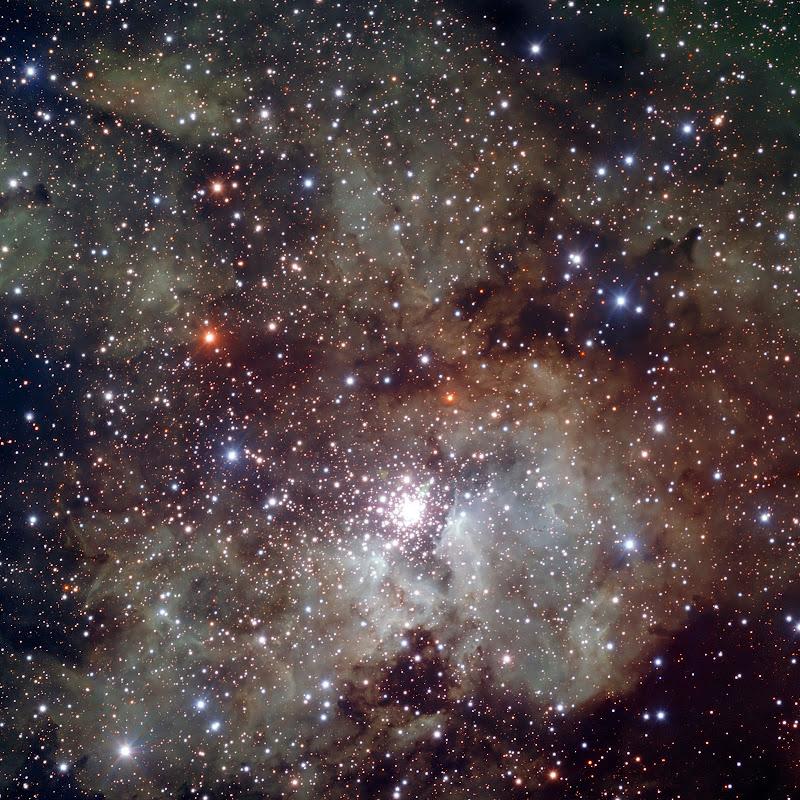 The starburst region NGC 3603.