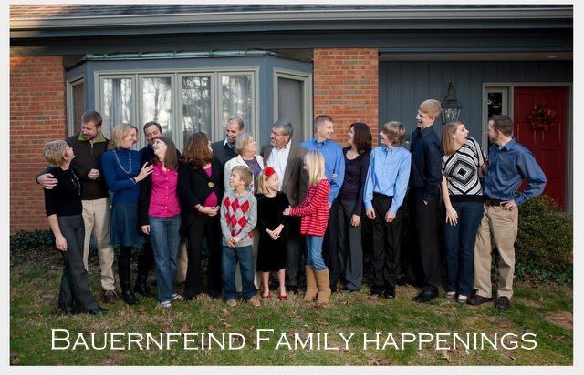 Bauernfeind family updates