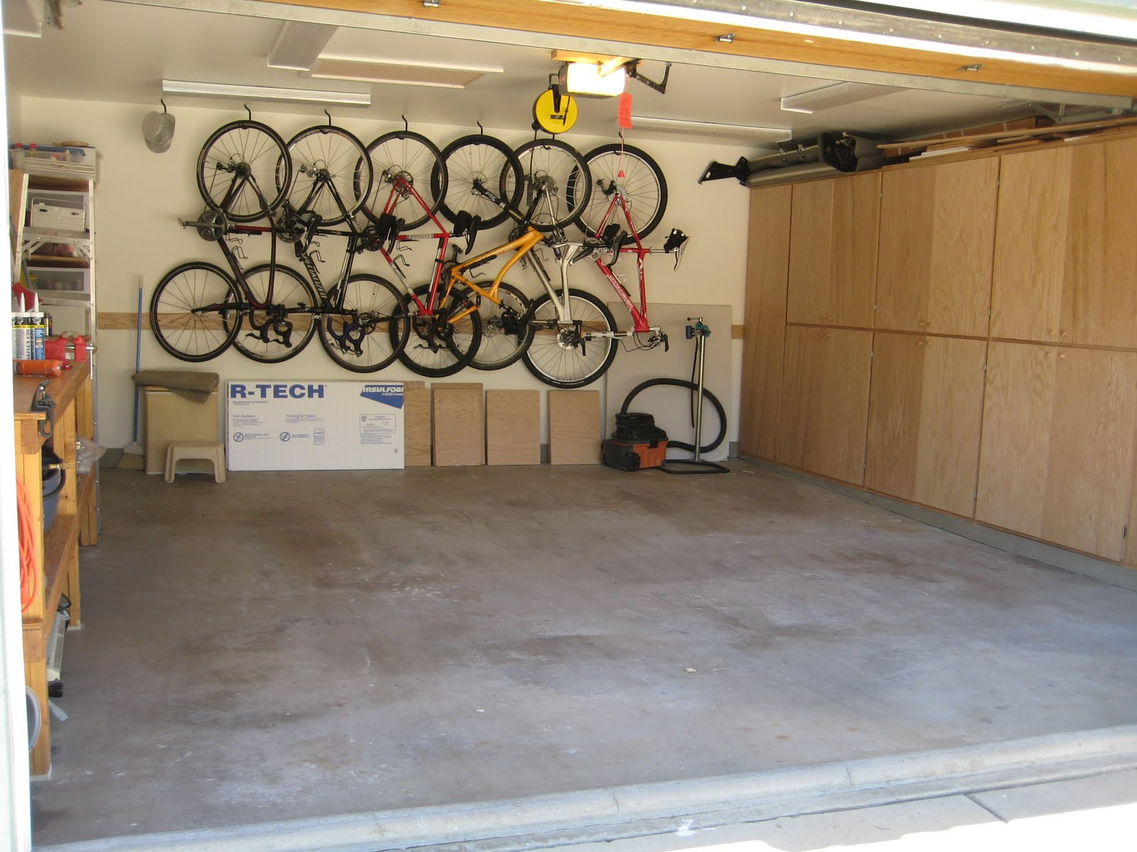 DaveCallie Garage Renovation Completed - Garage renovation pictures