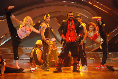 Remo's power packed performance on Zee TV show Dance India Dance