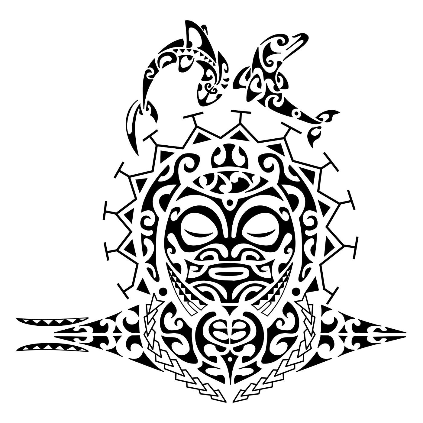 Blu sky tattoo studio maori significato 67 for Tattoo simboli di vita