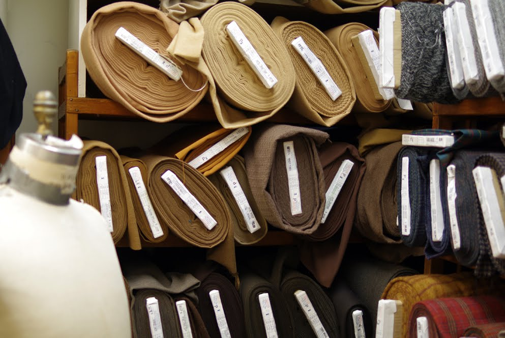 A peek in Pennsylvania Fabric Outlet revealed a diverse inventory.