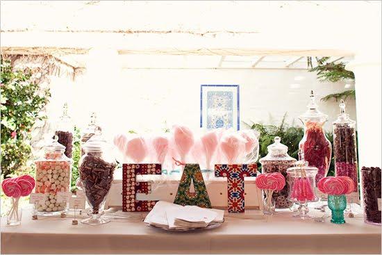 Gypsy Red Beginning Ideas For Wedding Candy Bars