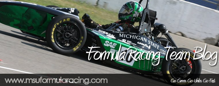 Michigan State Formula Racing Team Blog