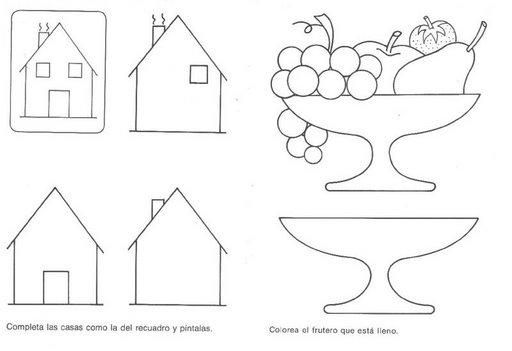 Imágenes para colorear ancho-angosto - Imagui
