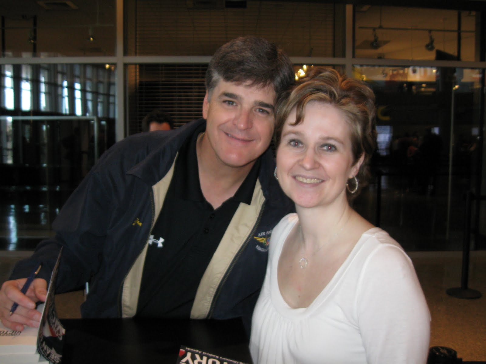 Sean hannity wife taking our country back w sean hannity and