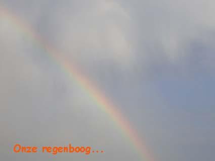Onze regenboogbrug... 2009 - 2010