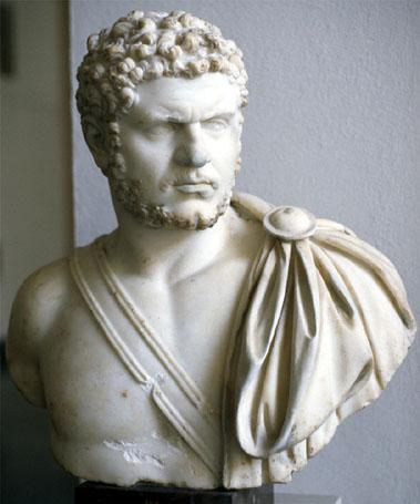 Emperador romano, mejor conocido como caracalla .