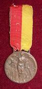 Antica medaglia della Marcia su Roma