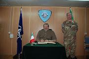 Il Sindaco Emiliano presso il comando in Kosovo