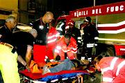 Vigili del fuoco di Bari in ...azione