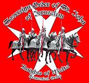 I cavalieri crociati in azione...