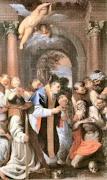 Sant'Agostino tra i mistici Crociati