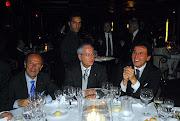 Il Senatore d'Ambrosio e il Prof. Schittulli, in un serata tra amici