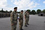 Ufficiali a Milite, Corpo Militare dell'ACISMOM, premiati, primi posti, in località Persano.