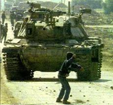 Tanklara karşı taş
