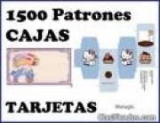 1500 PATRONES PARA REALIZAR TUS PROPIAS CAJAS + DISEÑOS