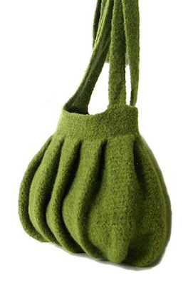 Crochet Felted Tote Bag Pattern