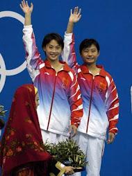นักกระโดดน้ำจีน