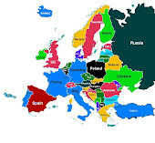 Europe (interactiv map)