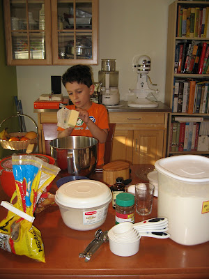 Baking with kids: Chocolate cookies