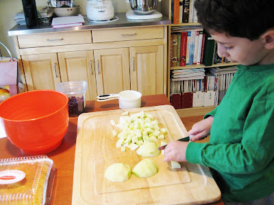 "Cooking with Kids: ""Feast Lesson"""