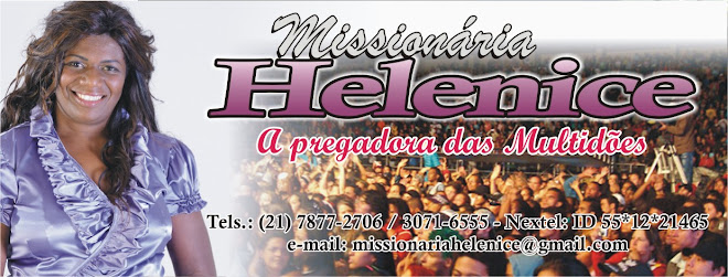 Missionária Helenice Justino