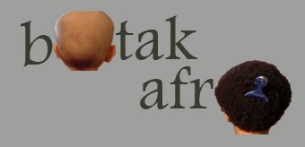 botak afro