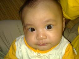 My Dhiya Qistina @ 3 month