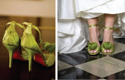 Shoes on Bright Bridal Shoes Forget The White And Ivory Satin