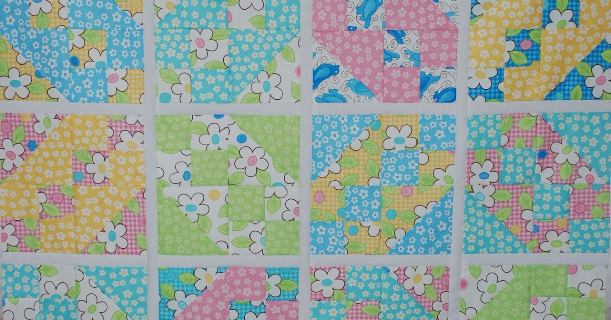 Charley Dee Amp Me Jacob S Ladder Baby Quilt Top